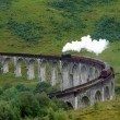 Glenfinnan Viaduct and steam train — Stock Photo #7127717