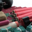 Stock Photo: Set of firecrackers