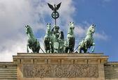 Brandenburg Gate detail — Stockfoto
