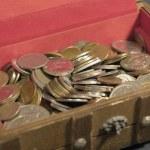 Open treasure chest — Stock Photo #7139514