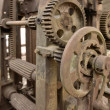 Stock Photo: Rusty machine detail