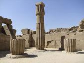 Stone column around Precinct of Amun-Re — Stock Photo