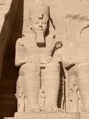 Ramses 2nd in Abu Simbel — Stock Photo
