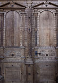 Nostalgic door detail — Stock Photo