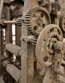 Rusty machine detail — Stock Photo