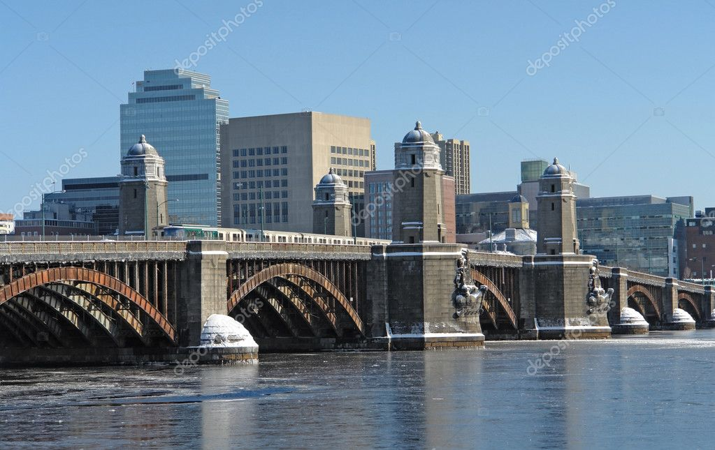 Boston scenery with bridge and river | Stock Photo © PRILL ...