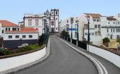 Street scenery at Ponta Delgada — Stock Photo