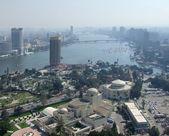 City view of Cairo from Gezira — Stock Photo