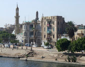 Egyptian city named Esna — Stock Photo