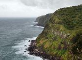 Cliffy coastal scenery at the Azores — Stock Photo