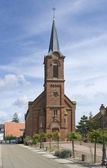 Church in Mittelbergheim — Stock Photo