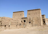 Ancient temple of Isis — Stock Photo