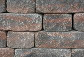 Dry masonry wall detail — Stock Photo