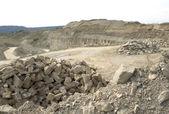Stone pit scenery — Stock Photo
