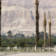 Stock Photo: Around the Mortuary Temple of Hatshepsut