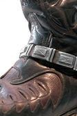 Cowboy boot closeup — Stock Photo