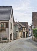 Mittelbergheim street scenery — Stock Photo