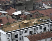 Roofs in Wuhan — Stock Photo
