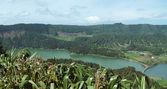Lagoa das sete cidades at Sao Miguel Island — Stock Photo