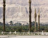 Around the Mortuary Temple of Hatshepsut — Stock Photo