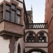 Architectural detail in Freiburg — Stock Photo