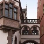 Architectural detail in Freiburg — Stock Photo