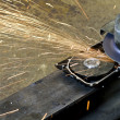 Hard disk grinding - Stock Photo