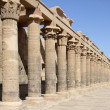 Stock Photo: Sunny temple of Isis detail
