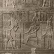 Stock Photo: Relief at Chnum Temple in Egypt