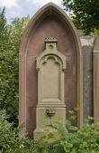 古老的墓地在弗赖堡 — 图库照片