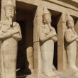 Hatschepsut sculptures made of stone — Stock Photo #7196941