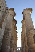 Columns at Luxor Temple in Egypt — Stock Photo