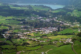 Aerial scenery at the Azores — Stock Photo