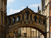 Bridge of Sights in Oxford — Stock Photo