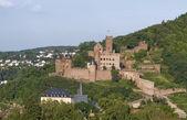 Aerial view of Wertheim Castle — Stock Photo