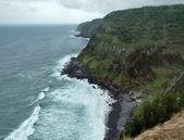 Coastal scenery at the Azores — Stock Photo