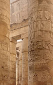 Columns at Precinct of Amun-Re in Egypt — Stock Photo