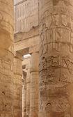 Columns at Precinct of Amun-Re in Egypt — Stock Photo