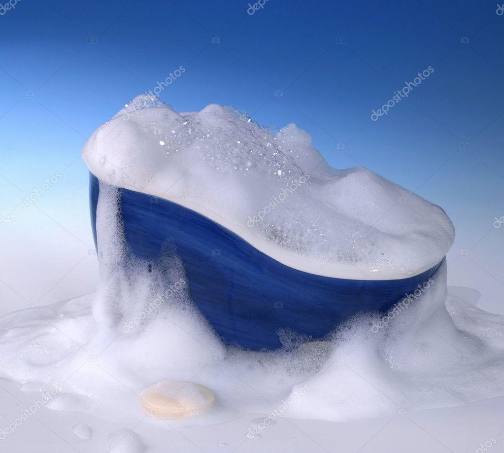 badewanne und schaum — stockfoto © prill #7224737, Hause ideen