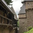 Stock Photo: Haut-Koenigsbourg Castle detail