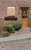 Entrance in Miltenberg — Stock Photo