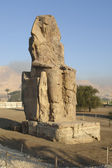 Colossi of Memnon in Egypt — Stock Photo