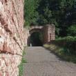 Archway around Wertheim Castle — Stock Photo
