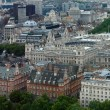 Aerial view of London — Stock Photo