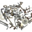 Stock Photo: Screw clutter