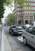 Street view of Düsseldorf — Stock Photo