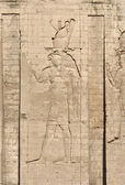 Relief at the Temple of Edfu — Stock Photo