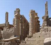 Stone remains around Precinct of Amun-Re — Stock Photo