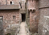 Проход в haut Кёнигсбург замок — Стоковое фото