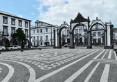 Urban scenery at Ponta Delgada — Stock Photo